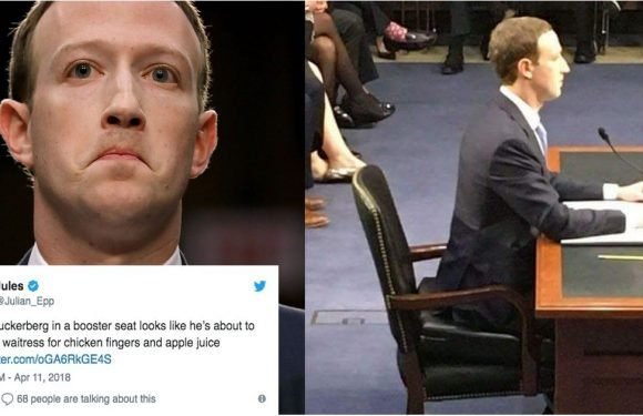 Yup, Mark Zuckerberg Actually Used a Booster Seat While Testifying — and Twitter Is DYING