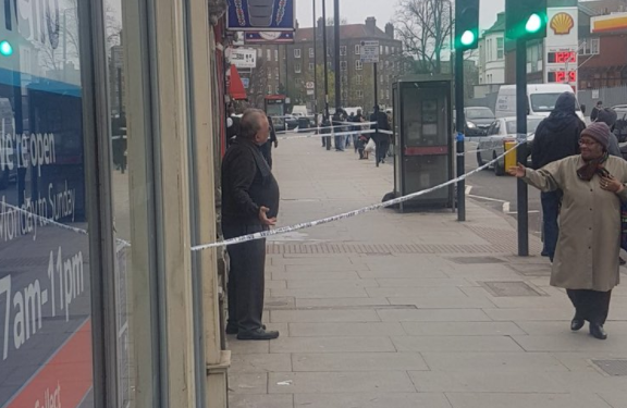 East London stabbing in Upper Clapton sees man rushed to hospital