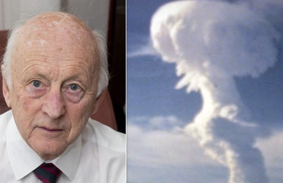 Survivor of Britain's nuclear experiments reveals why he was one of 'lucky' ones