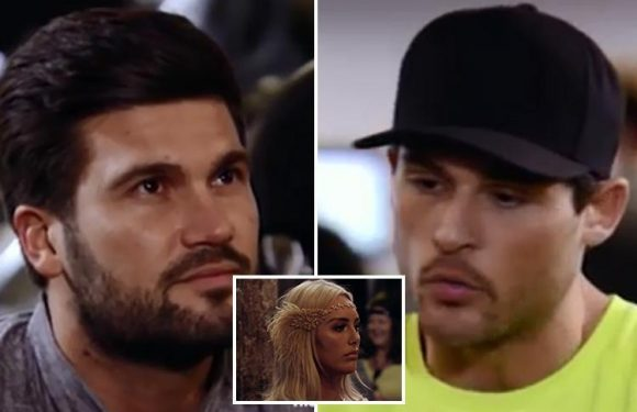 Towie fans brand Dan Edgar the 'worst liar ever' as he insists to Dean Ralph he hasn't slept with Amber Turner