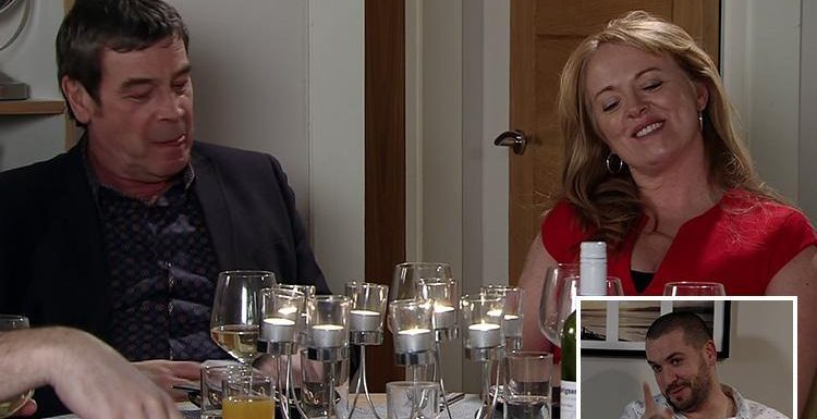 Coronation Street fans in hysterics after dirty innuendo filled dinner party scenes