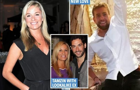 Tamzin Outhwaite, 47, dating Tom Child, 26 – and he's a dead ringer for her ex
