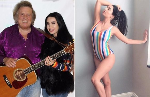 American Pie singer Don McLean, 72, dating lingerie model Paris Dylan, 22, who wows in sexy swimsuit