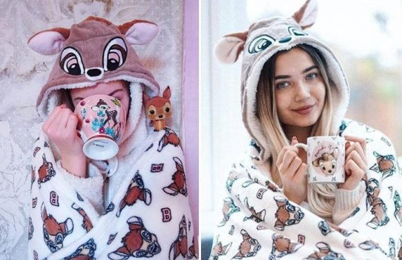 Primark is selling a Bambi hooded blanket with ears… and Disney fans are LOVING it