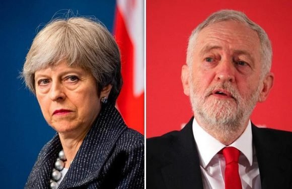 Theresa May is more popular than Jeremy Corbyn for the first time as voters turn on Labour leader over spy poisoning and anti-Semitism row