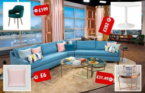 Love This Morning's posh new studio? Here's how to get the cosy interiors looks for a lot less