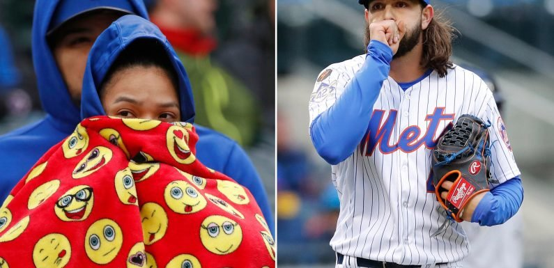 Not even brutally cold conditions can slow red-hot Mets