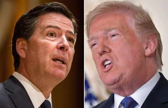 Trump calls James Comey a 'slimeball' who lied to Congress