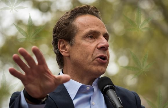 Cuomo lays groundwork for legalizing marijuana