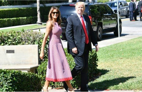 Melania Trump Wore Her Sunday Best to Church — and That Includes These Designer Heels