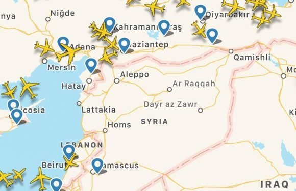 Syria – US-led coalition warplanes 'seen flying over Iraqi border' as nerve gas counter attack looms