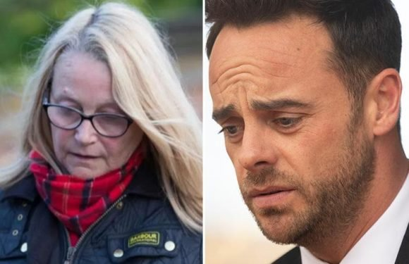 Ant McPartlin's mum Christine Woodhall 'didn't know he was drunk' when he got behind wheel in drink-drive crash
