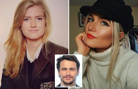Schoolgirl James Franco 'flirted with' reveals she is still trolled by fans four years later