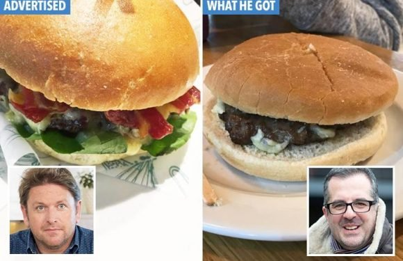 TV chef James Martin apologises for 'truly awful' £9.50 burger at his airport restaurant
