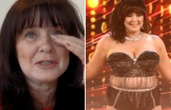 Coleen Nolan left in tears as her Real Full Monty co-stars praise her for her courage and helping them strip off for charity