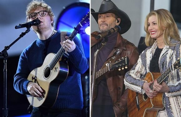 Ed Sheeran wants plagiarism court case accusing him of 'stealing' a hit he penned for Faith Hill and Tim McGraw thrown out