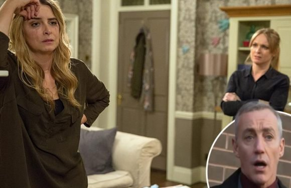 Emmerdale's Michelle Hardwick reveals 'dangerous' DI Bails could threaten Charity and Vanessa's steamy love affair