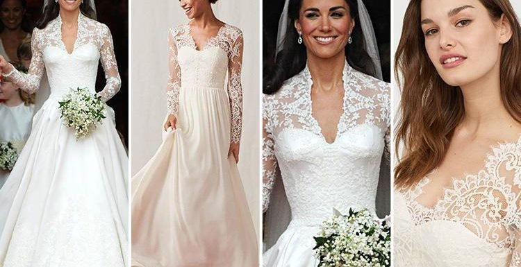 Alexander Mcqueen Wedding Dresses | H M Is Selling A Dupe Of Kate Middleton S Alexander Mcqueen Wedding