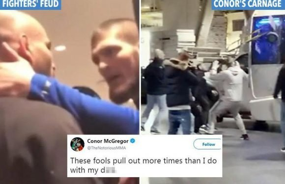 Bitter UFC feud that sparked Conor McGregor's bus rampage revealed as furious UFC rivalry with Khabib Nurmagomedov explodes