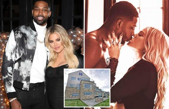 Khloe Kardashian has NOT split from Tristan Thompson and has not kicked him out of their home as she's desperate to resume 'Instagram perfect life' with love rat