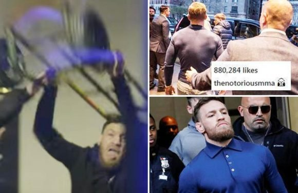 Conor McGregor breaks silence with cryptic Instagram post as UFC star faces being banged up for assault