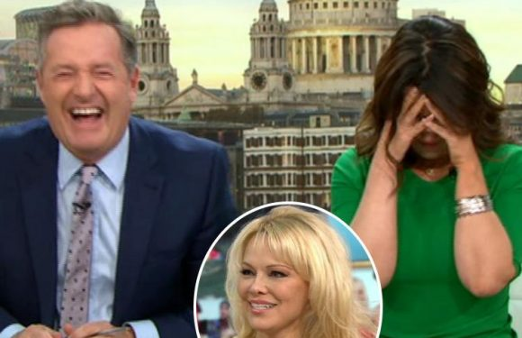 Flirty Piers Morgan tells Pamela Anderson he's 'never had bad sex' during awkward Good Morning Britain interview