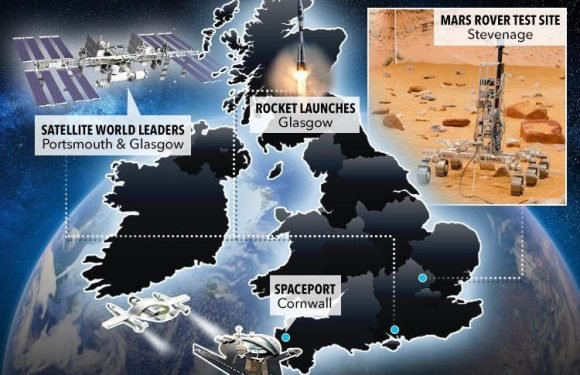 Blast off from Newquay and visit Mars from Stevenage… how Britain's ambitious space plans could see us plant a Union Jack in martian soil