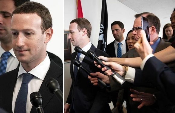 Facebook's Mark Zuckerberg meets with top lawmakers ahead of week of grilling in front of US Congress