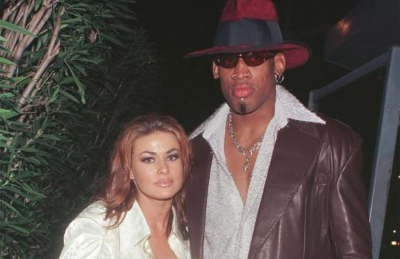 Dennis Rodman would ask Carmen Electra to marry him again