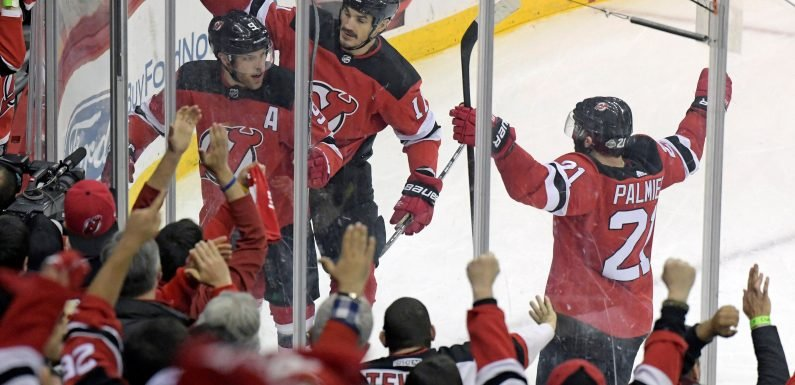 Taylor Hall hears 'MVP' as feisty Devils seize playoff momentum