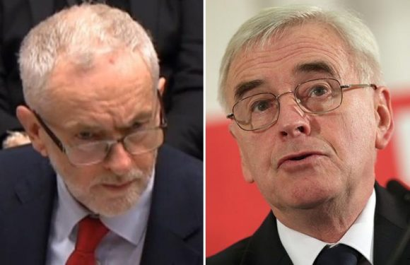 Senior staff of Jeremy Corbyn and John McDonnell 'belonged to Facebook groups that carried vile Nazi posts'