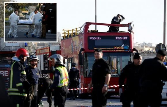 Malta bus packed with Brits crashes killing two and injuring 50 including two UK schoolboys