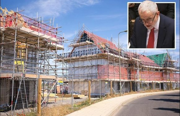 Labour vows to DOUBLE number of homes they pledged to build to 200,000 every year