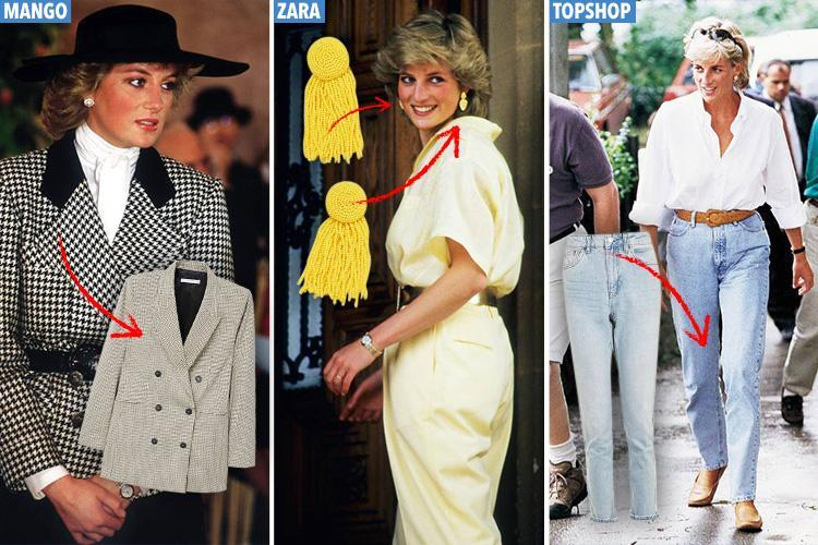Princess Diana's style is back, and here are the high ...