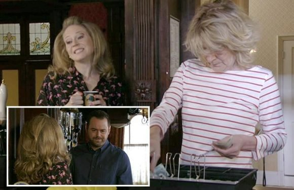 EastEnders films 'emergency' scene to celebrate the birth of the royal baby