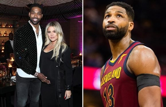 Tristan Thompson spotted leaving Khloe Kardashian's hospital less than 12 hours after she gave birth