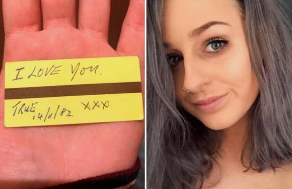 Marketing assistant, 25, who found 38-year-old love note launches campaign to reunite it with its rightful owner