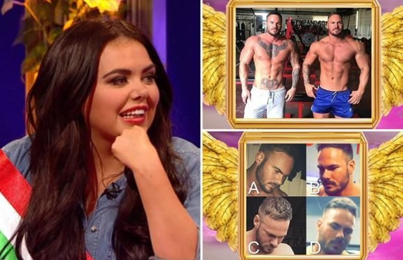 Scarlett Moffatt mortified as she fails to guess her boyfriend Lee correctly from his identical twin brother on Celebrity Juice