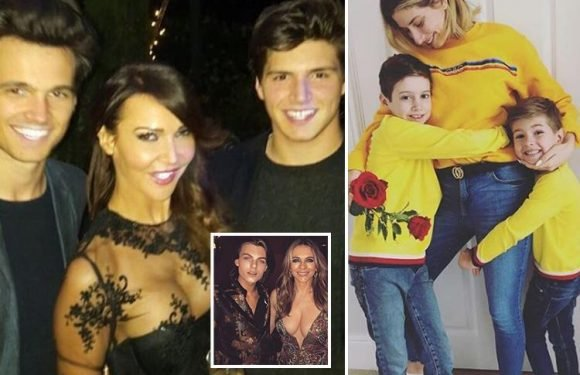 'Inappropriate' or 'just a mum having fun'… Stacey Solomon and Lizzie Cundy debate if Liz Hurley should have worn THAT dress at her son's birthday
