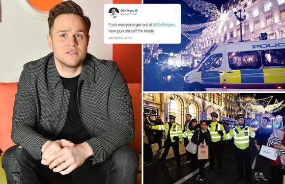 Olly Murs says 'shots WERE fired' during London's Oxford Street Black Friday terror scare — and hints at cover-up