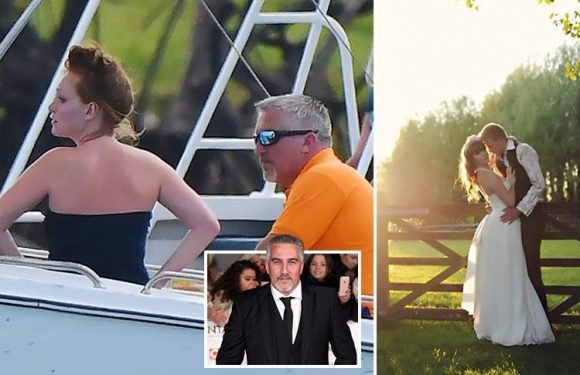 Paul Hollywood's new girlfriend, 22, poses in wedding dress for bridal modelling shoot