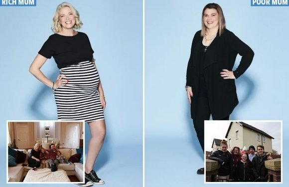 Two mums swap lives and bank balances for a week for Channel 5 show