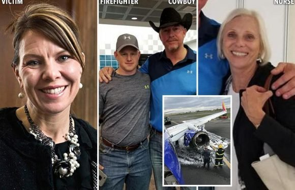 Southwest Airlines emergency landing – how cowboy, firefighter and nurse tried to save mum sucked out of plane after engine exploded at 32,000ft