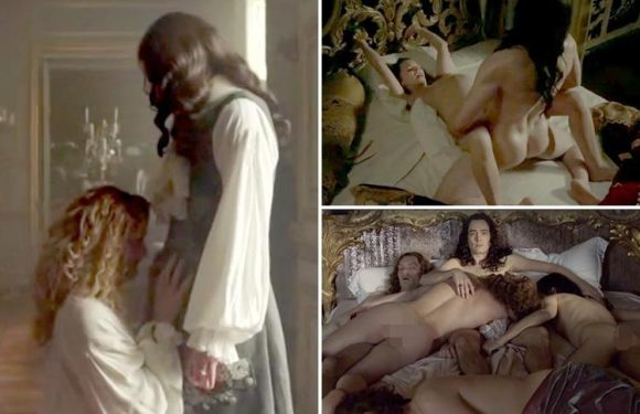 BBC's Versailles to be axed as viewers tire of constant sex scenes