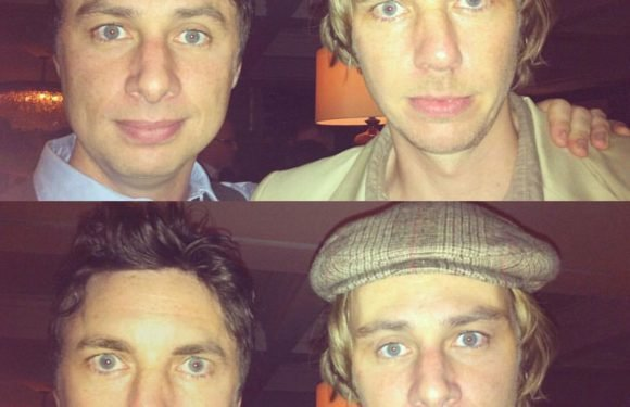 Dax Shepard and Zach Braff look almost identical in face-swap photo