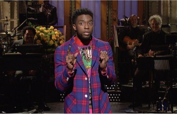 "Chadwick Boseman Is Thrilled to Be Hosting SNL ""Only 2 Months After Black Panther Came Out"""