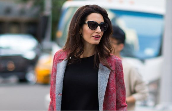 We're Not Kidding, Amal Clooney's Stunning Coats Will Make You Stop Dead in Your Tracks