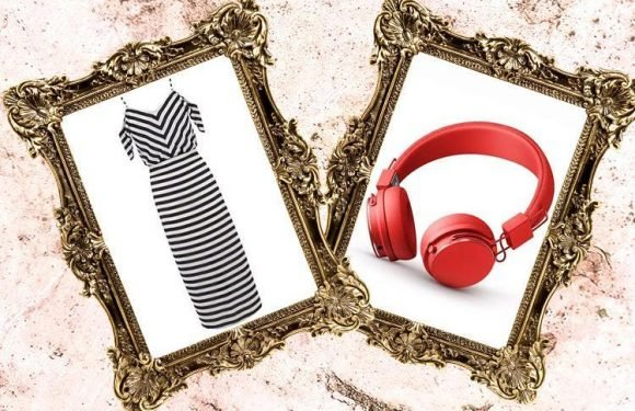 The perfect springtime dress and some eye-catching headphones… here's what we're lusting after today