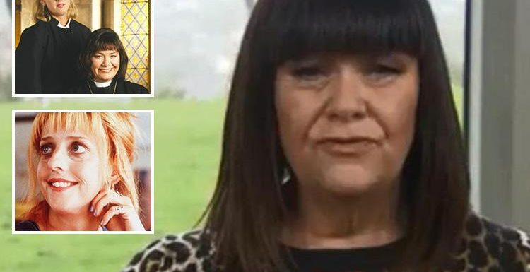 Dawn French says she's still in shock over death of Emma Chambers as she pays tribute to her Vicar of Dibley co-star