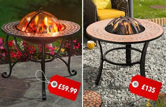 B&M is selling a mosaic firepit for those chilly summer evenings… and it's £75 cheaper than Tesco's version